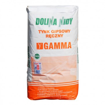 Штукатурка гипсовая 20 кг Dolina Nidy Gamma