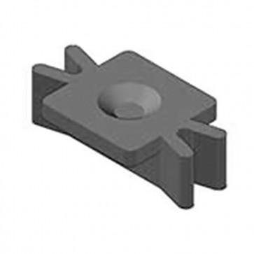 Клемма монтажная тип 205 для террасной доски ДПК упаковка 100 шт