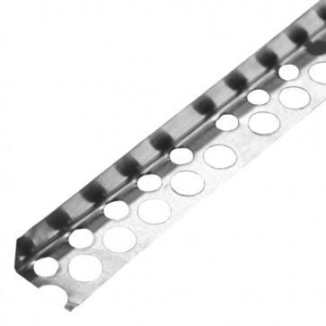 Перфорированный уголок алюминиевый 20х20 мм 2,5 м