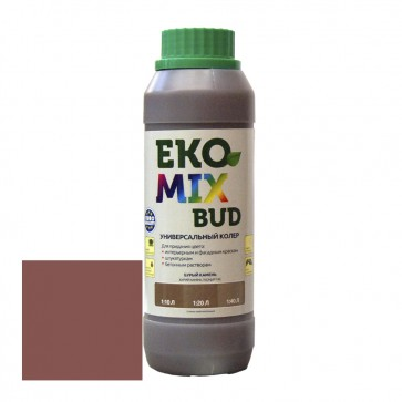 Колер универсальный Eko Mix Bud бурый камень 0,5 л