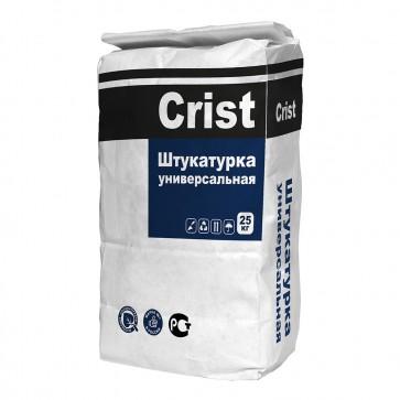Штукатурка цементная универсальная CR300 25 кг CRIST