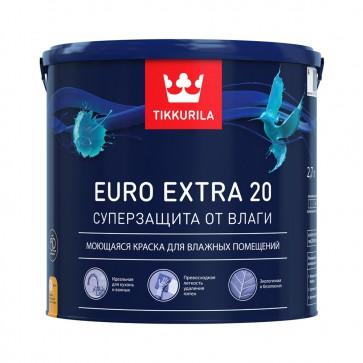 Краска дисперсионная латексная EURO 20 Tikkurila база А 2,7 л