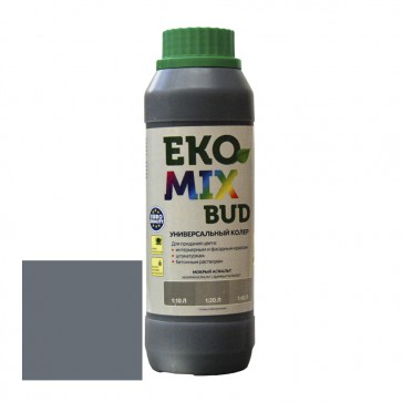 Колер универсальный Eko Mix Bud мокрый асфальт 0,5 л