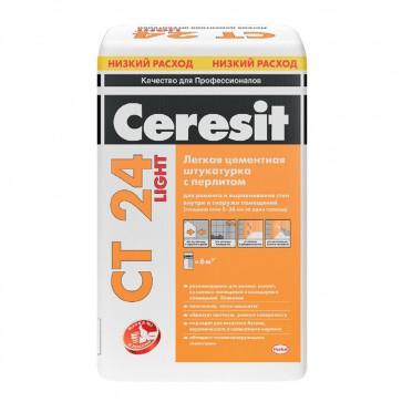 Штукатурка для ячеистого бетона CT 24 LIGHT Ceresit 20 кг
