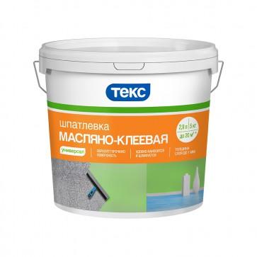 Шпаклевка масляно-клеевая Универсал ТЕКС 5 кг