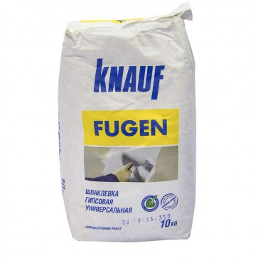 Шпаклевка гипсовая FUGEN Knauf 10 кг