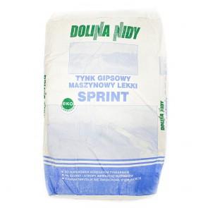 Штукатурка машинная гипсовая 25 кг Sprint Dolina Nidy