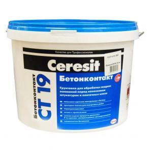 Грунтовка Бетонконтакт СТ19 Ceresit 15 кг