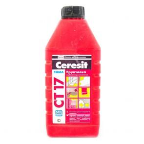 Грунтовка глубокого проникновения СТ 17 Ceresit 1 л
