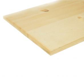 Мебельный щит 18 мм хвоя 400x1600 мм сорт АB